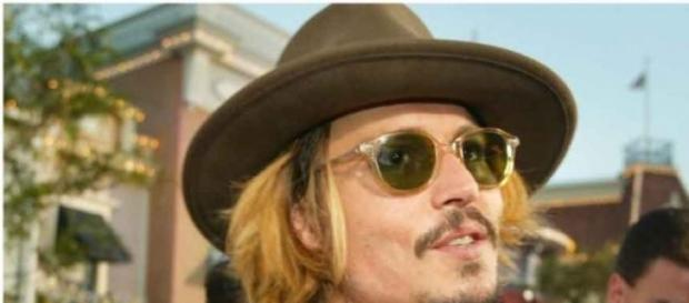 Johnny Depp bei Pirates of the Caribbean-Event.