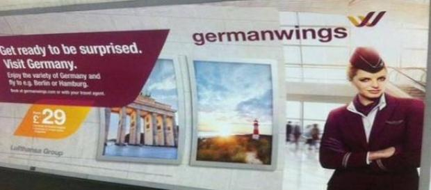 Niefortunna reklama Germanwings