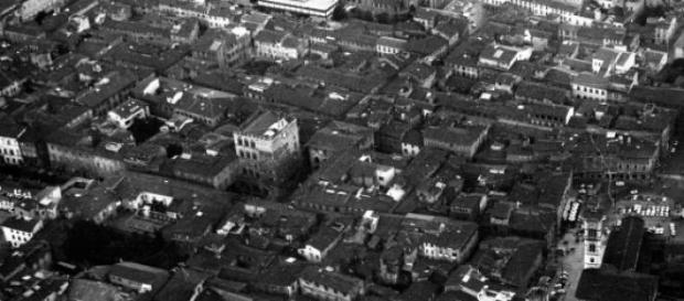Una veduta storica della città di Prato