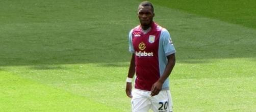 Benteke scored a last minute penalty for Villa