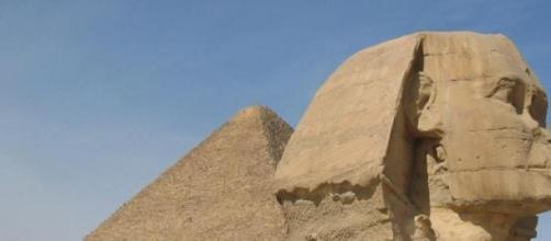 Esfinge e as Pirâmides de Gizé