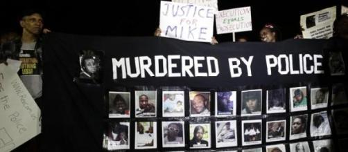 Les manifestations de Ferguson lors du procès.