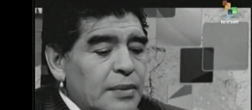 Maradona en 'De Zurda' evidencia cambios estéticos