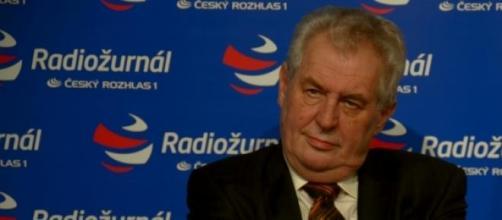 Milos Zeman, presidente della Repubblica Ceca