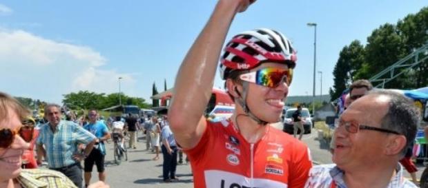 Belle victoire pour le coureur de l'équipe belge.