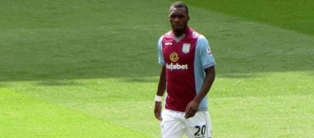 Benteke scored a last minute penalty for Villa