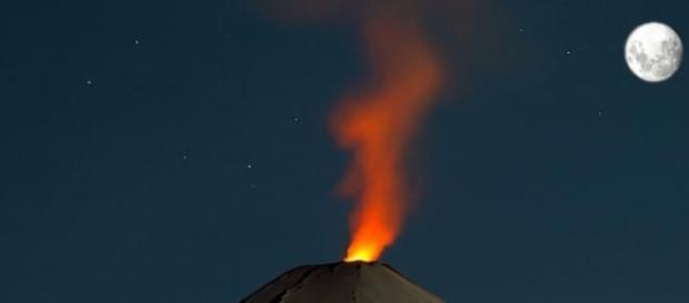 Foto Erupción volcán Villarica