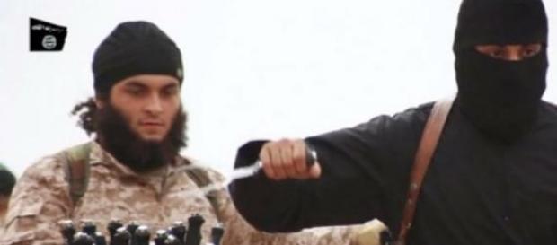 Jihadi John in an ISIS video