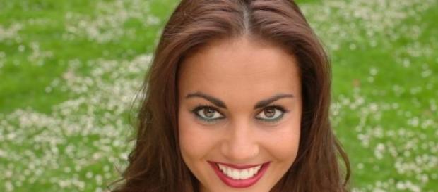 Lara Álvarez, la novia de Fernando Alonso.