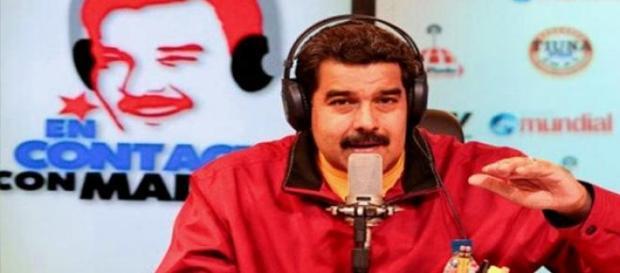 Nicolás Maduro al mando de su programa