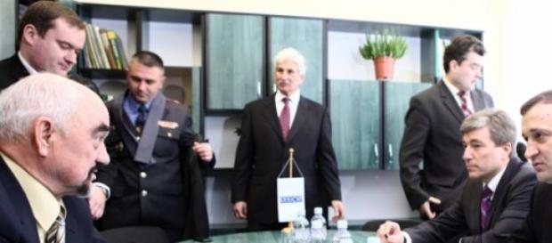 OSCE, urmareste incetarea focului in Ucraina