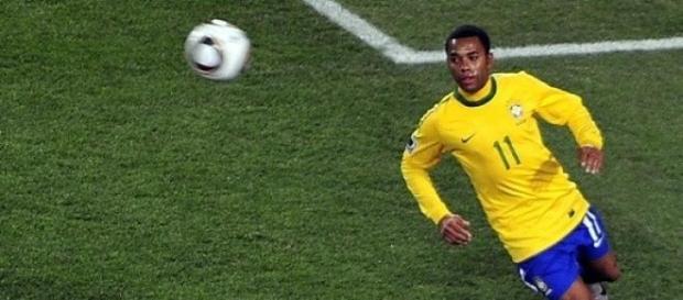 Robinho disputó los mundiales de 2006 y 2010