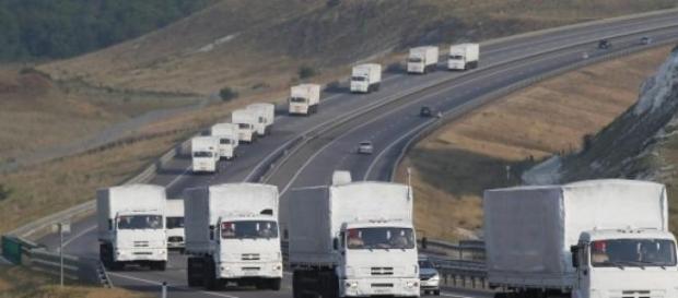 """Rusia trimite un nou convoi """"umanitar"""" in Ucraina"""