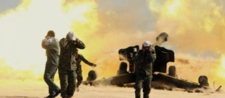 Iraquianos às portas de Tikrit
