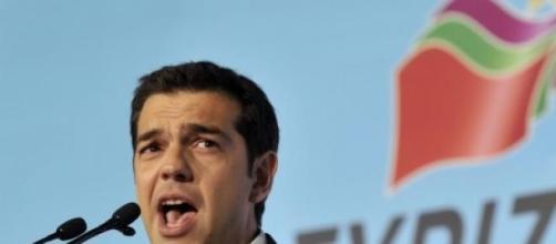Greek PM Alexis Tsipras speaks to SYRIZA's voters.