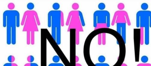 NO all'ideologia gender nelle scuole italiane
