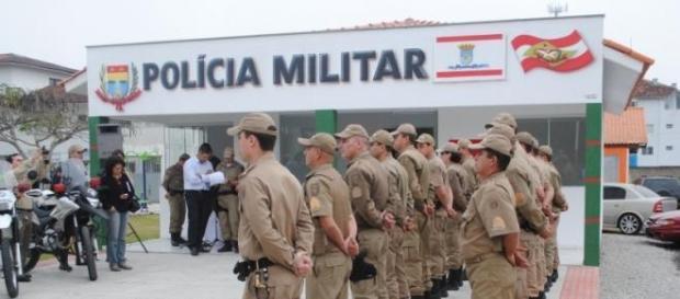 Concurso Polícia Militar SC. Foto: Rede Concursos