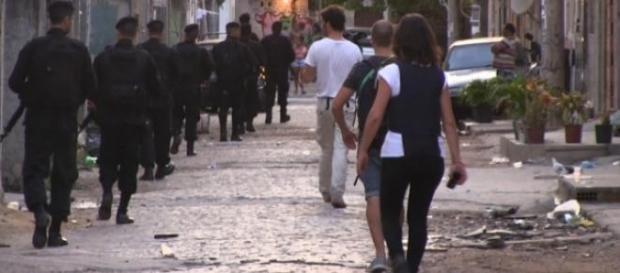 'En Tierra Hostil' visitó a españoles en Brasil
