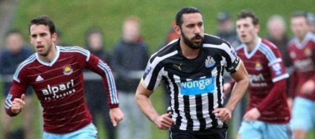 Gutiérrez voltou a jogar pelo Newcastle