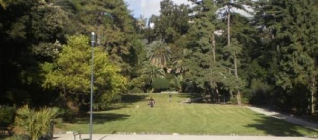 Parco di Villa Rossi a Sestri.