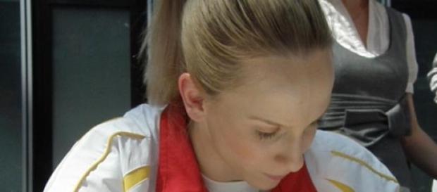 Sandra Izbasa revina in gimnastica