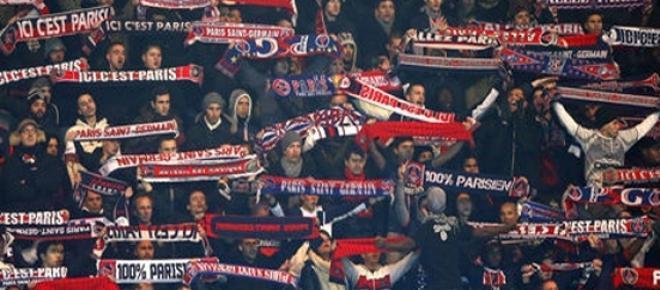 supporters du PSG au Parc des Princes