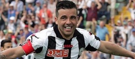 Antonio Di Natale, capitano dell'Udinese