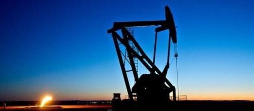 Cavalletto di estrazione in un campo petrolifero