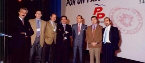 Inicios de  Barcenas y a Correa