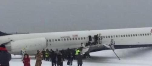 Se despista una aeronave en Nueva York
