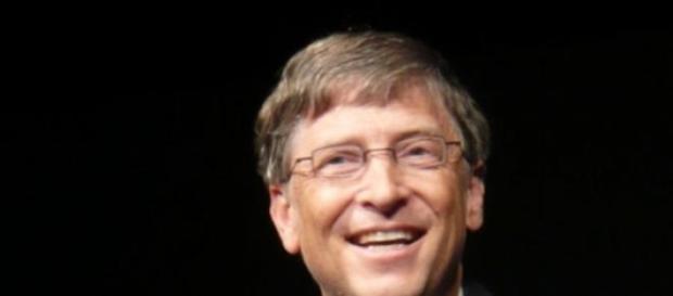 Bill Gates é o homem mais rico do mundo.