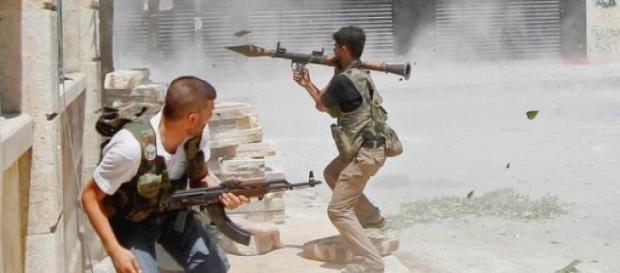 Des combats violents ont cours à Alep, en Syrie.