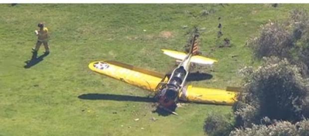 Harrison Ford, implicat intr-un accident aviatic