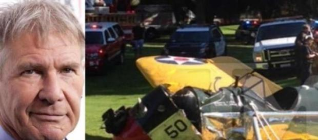 Harrison Ford sufre accidente aéreo