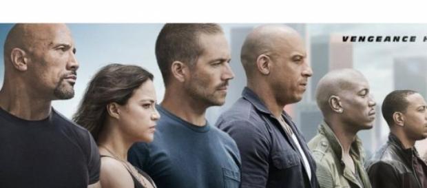 "Imagen de ""Fast and Furious 7"" con Paul Walker"