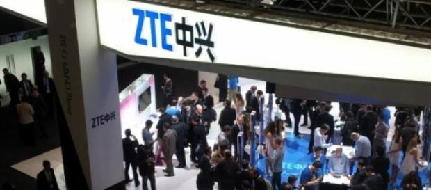 Stand de la ZTE al Mobile World Congress