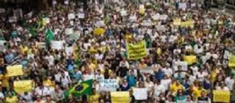 Manifestação popular em 2013