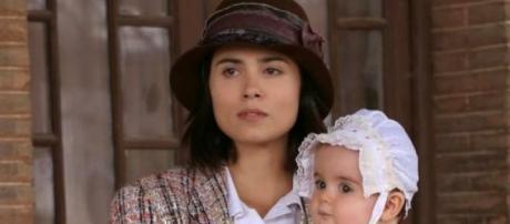 Trame Il segreto: Maria e la piccola Esperanza