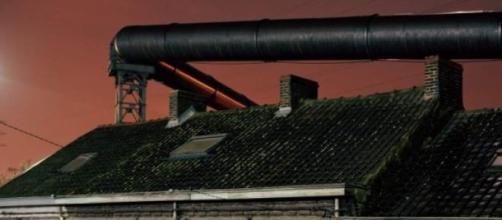 La foto fue tomada en Molenbeek y no en Charleroi.