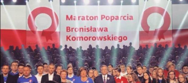 Bronisław Komorowski ogłasza hasło wyborcze