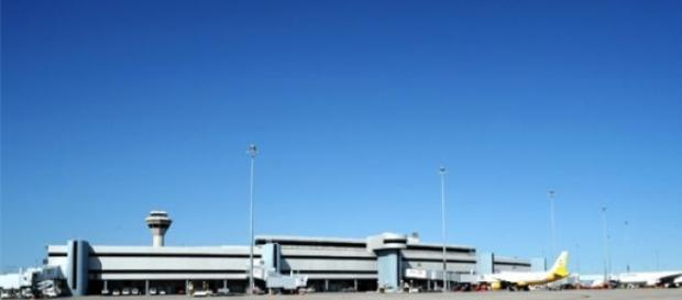 L'areoporto di Perth, in cui arrivò Reg Spiers.