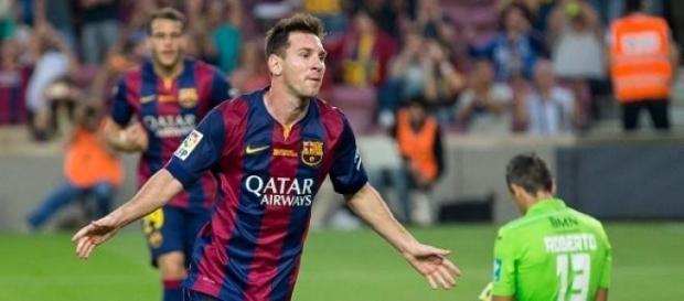 Messi vive en Barcelona desde los 13 años.