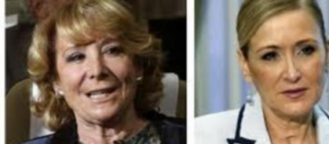 Candidatas a la Alcaldía y Comunidad de Madrid.