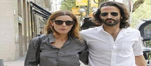 Raquel Sánchez SIlva con su novio Matias Dumont.