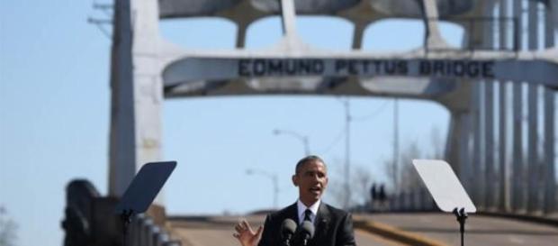 Barack Obama discursa em Selma, Alabama