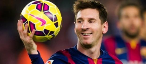 Lionel Messi a reusit un hat -trick