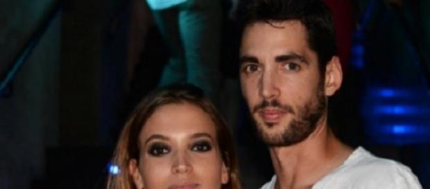 Santi Trancho junto a su pareja, Ana Fernández