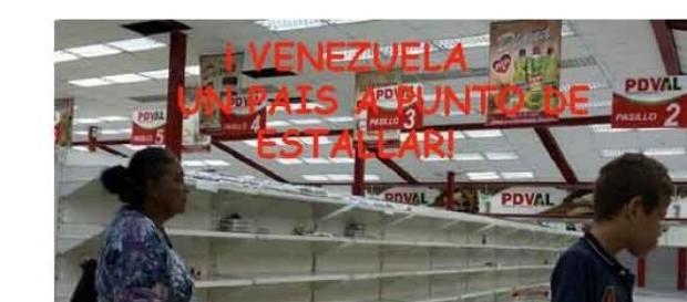 Venezuela,un país al limite de estallido popular .