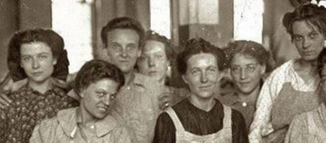 Mujeres obreras a principios del siglo XX