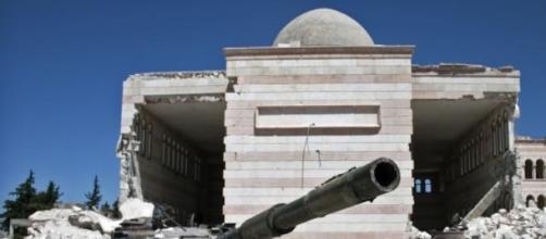 Estado Islâmico na Síria e no Iraque.